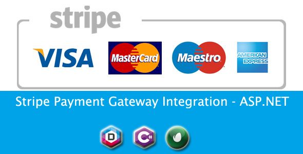 Stripe Payment Gateway Integration - ASP.NET  Payment gateway