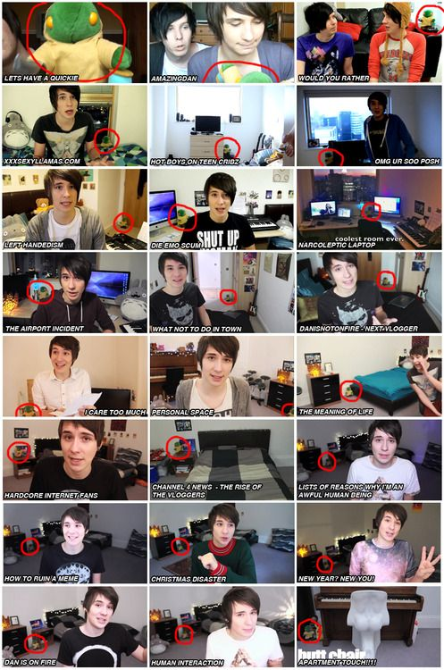 Phil gave Dan this toy in 2009 and he still has it to this day and it appears in his videos. Just one of the many reasons I ship Phan. <3