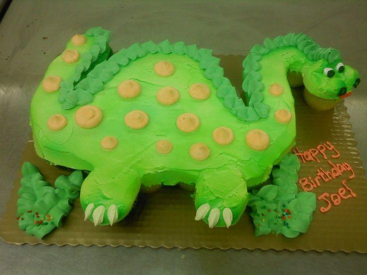 cupcake dinosaur cake | Dinosaur Cupcakes