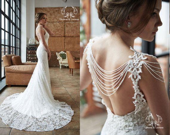 Fee Brautkleid Hochzeitskleid Unique Kleider von DressesLioness