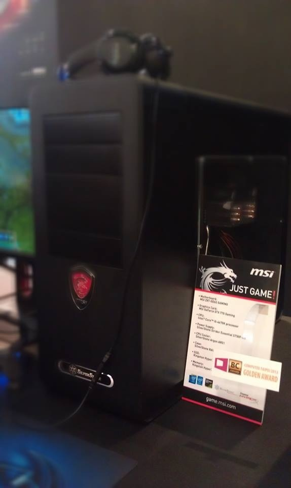 MSI GD65 Gaming and GTX 770 Build.