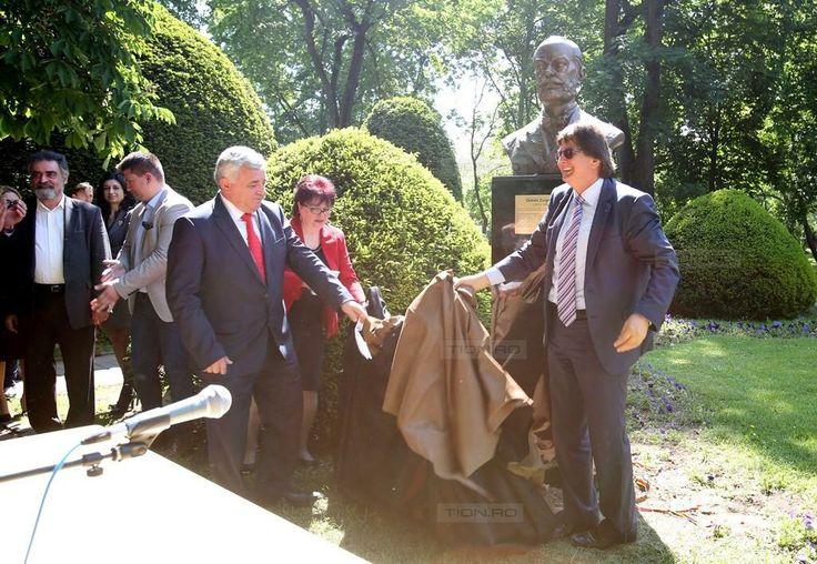 Bojin l-a ajutat pe Robu sa dezveleasca bustul lui Ormós Zsigmond. UDMR a venit cu un candidat la europarlamentare