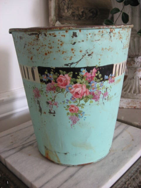/Painting Christy, Shabby Chic, Christy Repasy, Breathtaking Originals, Old Tins, Pink Rose, Gardens Pail, Originals Painting, Repasy Gardens