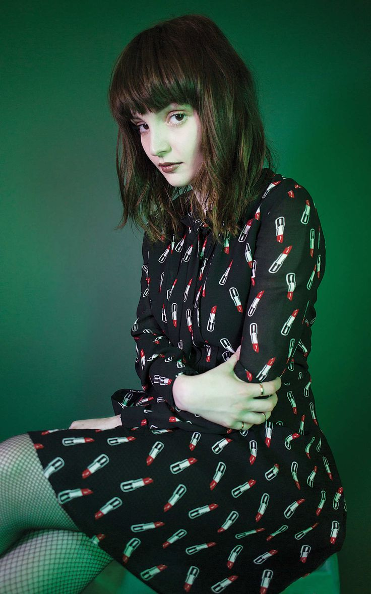 """""""I am not going anywhere. So bring it on."""" Chvrches front woman Lauren Mayberry Photo: Shae Detar"""