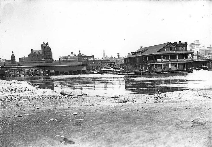 1910 Toronto Waterfront, Foot of York St.