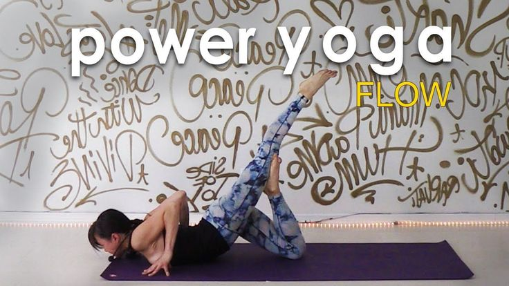 43 Minutes:  Power Yoga Workout ~ Move with Intention