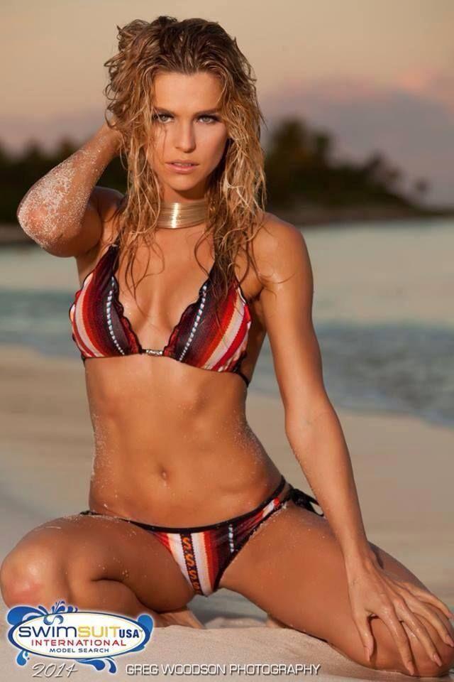 Bikini international model