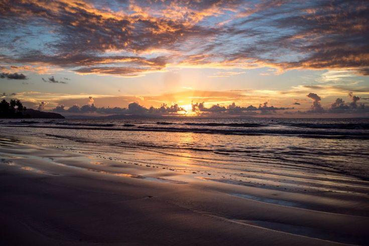 Sunset at Las Terrnas by makbet666