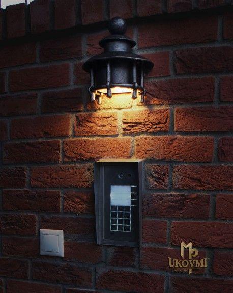Geschmiedete Lampe Eingangstormelder LB-65