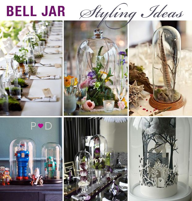 40 Best Cloches Images On Pinterest Bell Jars Bricolage And Glass Mesmerizing Bell Jar Decorating Ideas