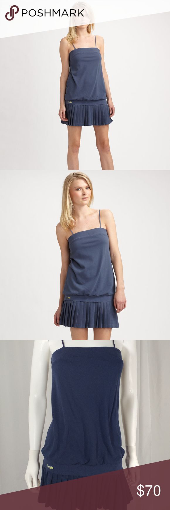 Lacoste + Malandrino Women Tornade Dress Lacoste + Malandrino Women Tornade Ruffle Tube Top Dress. Lacoste Dresses Mini