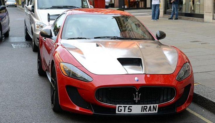 El capó de metal cepillado de este Maserati Granturismo MC Stradale cuesta 150 mil libras. (Foto: SWNS.COM)
