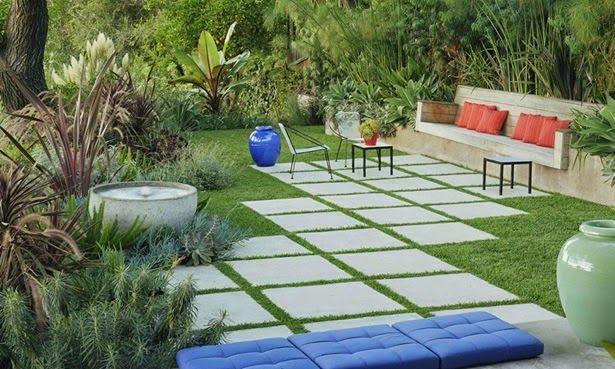 Частный двор, дизайн, фото / Backyard design, pictures