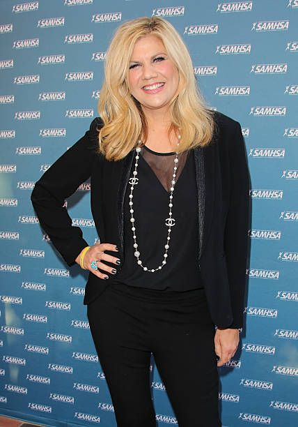 Actress Kristen Johnston attends SAMHSA's 2014 Voice Awards at Royce Hall at UCLA on August 13 2014 in Westwood California