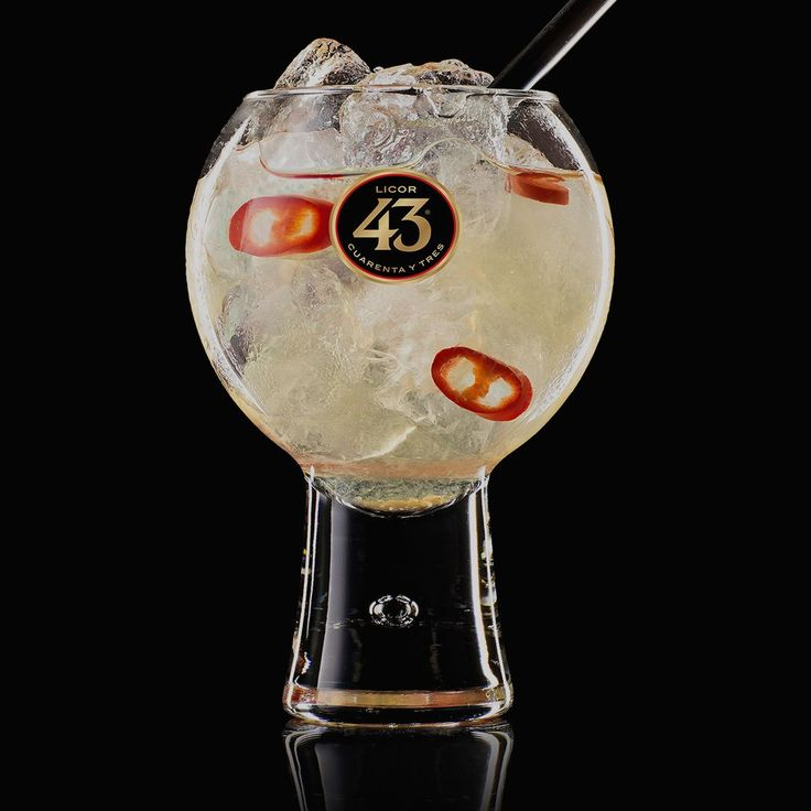 Get the recipe for the Red Hot 43, a spicy yet refreshing cocktail made with Licor 43, sparkling water, fresh lime juice and muddled red chillies.