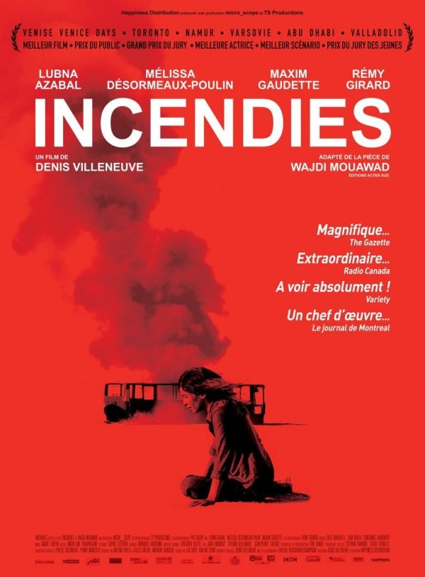 Incendies.  Foreign film.  Awesome storyline.