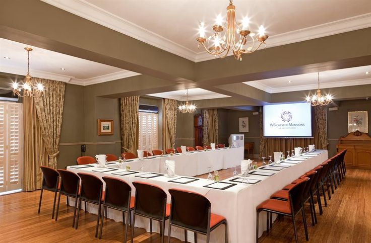 One of the 4 elegant conference / board rooms at this exquisite hotel.