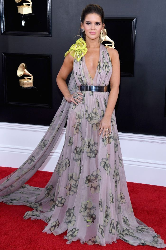 The Most Intriguing Grammys Red Carpet Looks Of 2019 Grammy Awards Red Carpet Red Carpet Looks Celine Dress