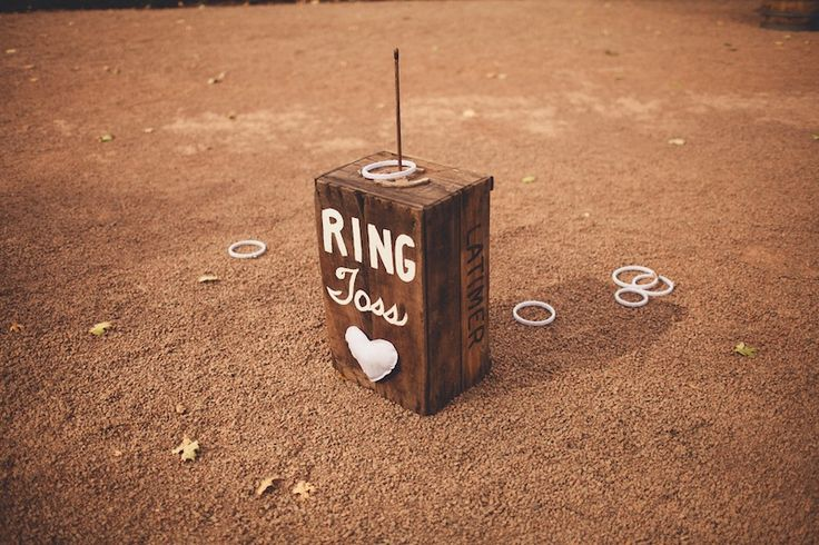 Ring Toss Wedding Game  andria lindquist photography