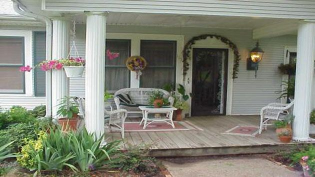 48 best exterior front porch images on pinterest front porches architecture and front doors - Ideas para decorar un porche cerrado ...