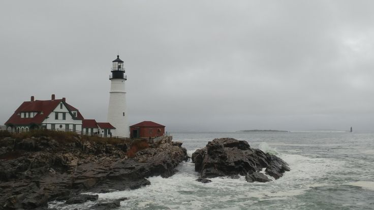 Portland Head Lighthouse, Portland Maine, October 27 2017