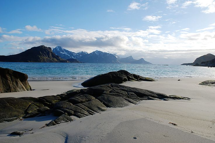 https://flic.kr/p/H4ZPy8 | Haukland Beach | Lofoten islands. Six months in Norway.  Explored on May 15, 2016.