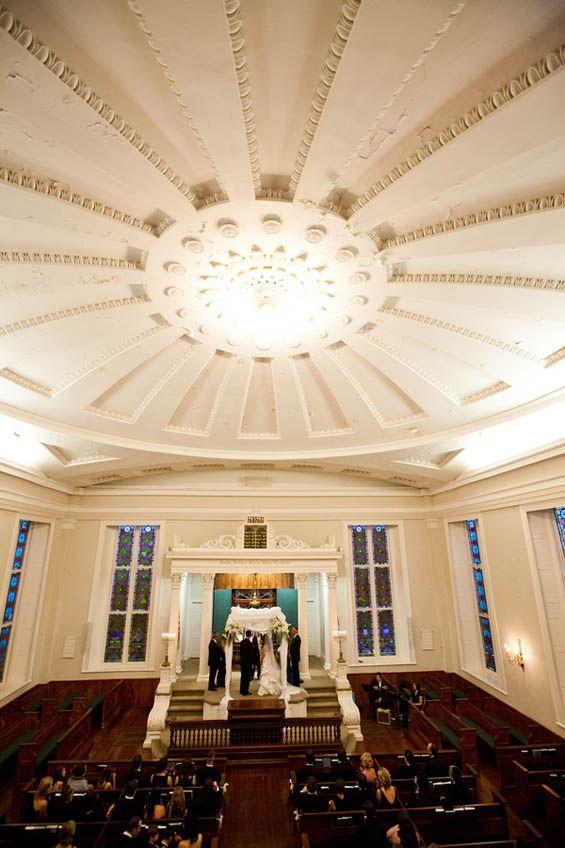 The beautiful KKBE Synagogue in South Carolina