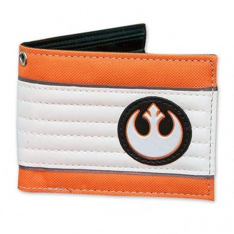 Muestra tu pertenencia a la #AlianzaRebelde de la popular saga de Star Wars con esta #cartera en polipiel. ¡Envíos en 48 horas! #merchandising #fandom #merchandisingproducts #wallet #starwars #laguerradelasgalaxias