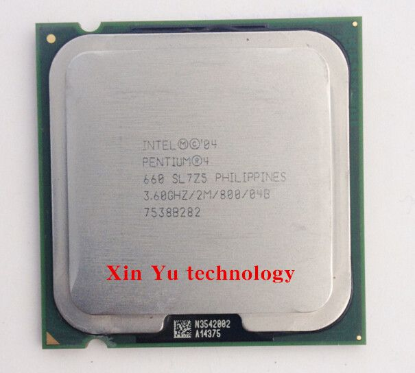 Lifetime warranty Pentium 4 660 3.6GHz desktop processors CPU Socket 775 pin LGA775