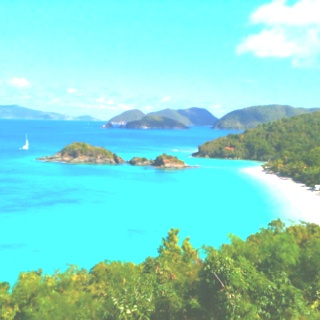 Trunk Bay, St. John :)