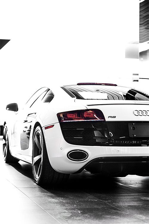 Audi R8 Audi four me , all wheel drive.Its a cheaper lambo,same car realy.