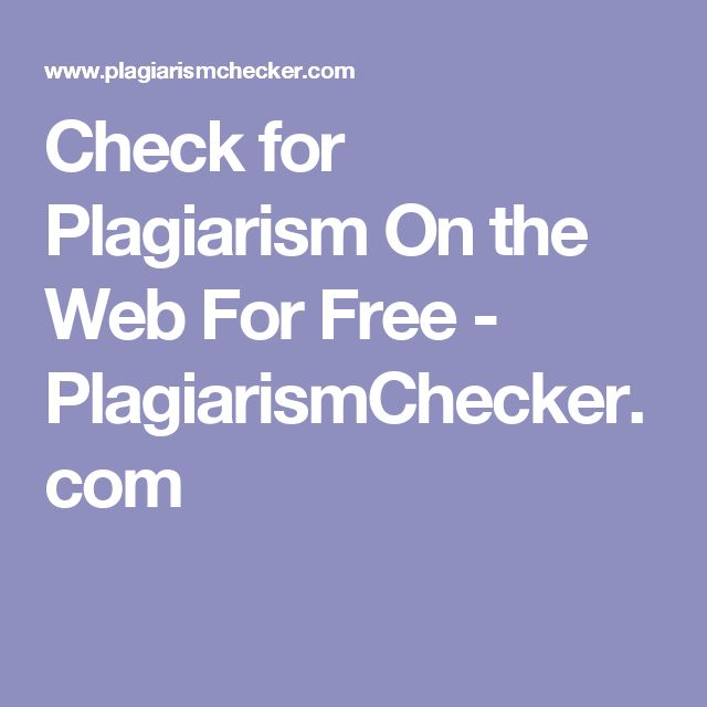 Check for Plagiarism On the Web For Free! As a teacher this website can help tell if a student has copied a paper off of the internet. You can type a word or phrase and it will let you know if it is copied.