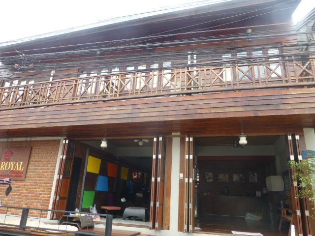 Chiang Khan old house and shops its in a district in the northern part of Loei Province, northeastern Thailand.