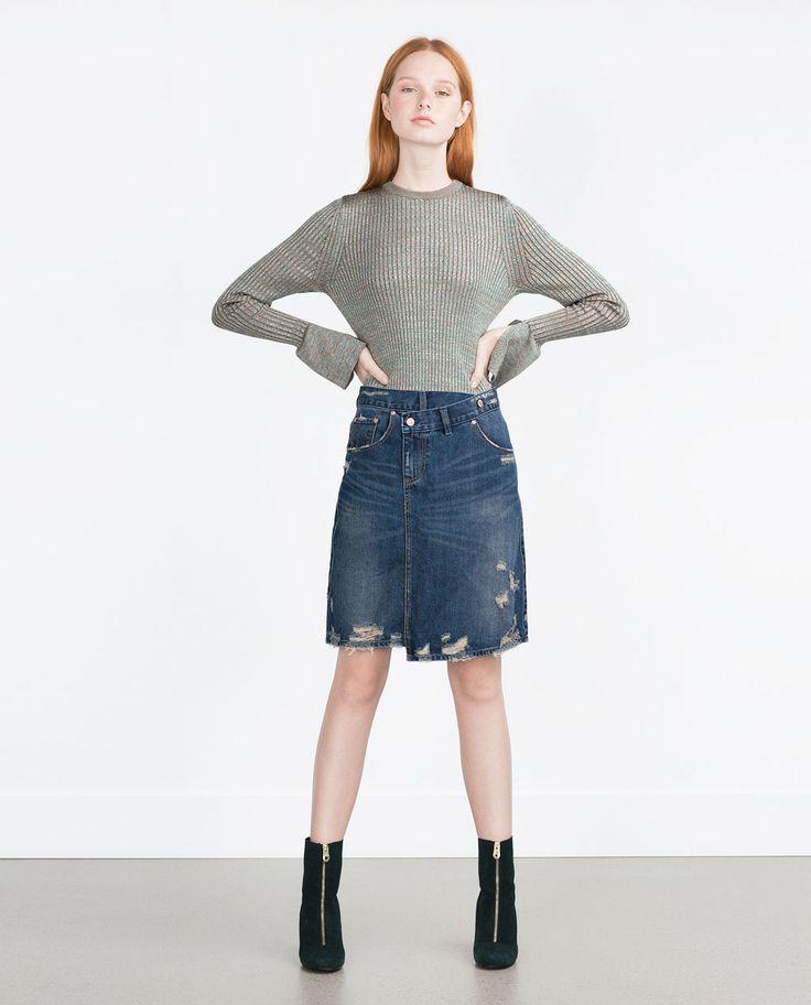 Best Denim Skirts 2016