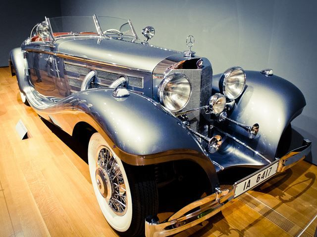 Because it's a pre-WWII Mercedes-Benz, only three 540K Special Roadsters are still known to exist.