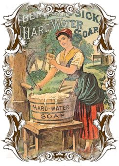 vintage #soap label