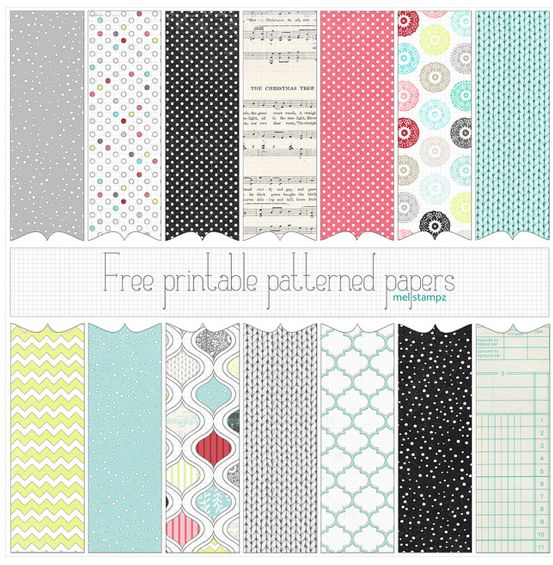 Where to Find Free Digital Scrapbook Paper! {Free Digital Scrapbooking Series- Part 3!} - MomOf6
