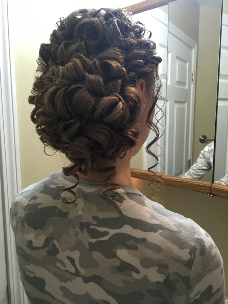 Hairstyle done by meeee!!!!