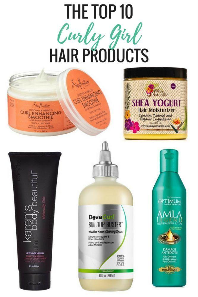Top 10 Curly Girl Haarpflegeprodukte Curly Hair Care Products Haarpflege Care Curly Girl Haarpfl Haare Pflegen Lockige Frisuren Naturliche Frisuren