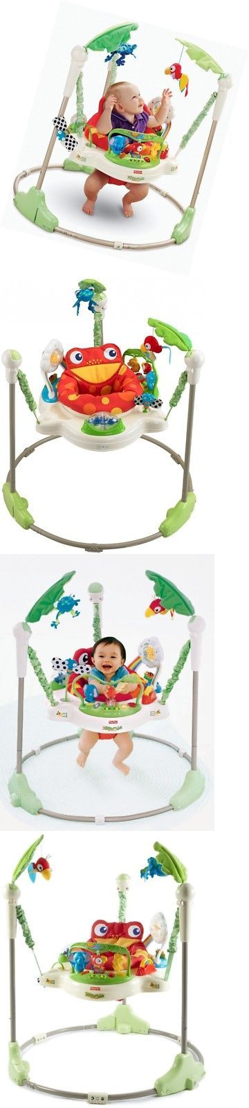 Baby Jumping Exercisers 117032: Fisher-Price Rainforest Baby Infant Chils Jumperoo W Light-Up Musical Piano -> BUY IT NOW ONLY: $109.08 on eBay!