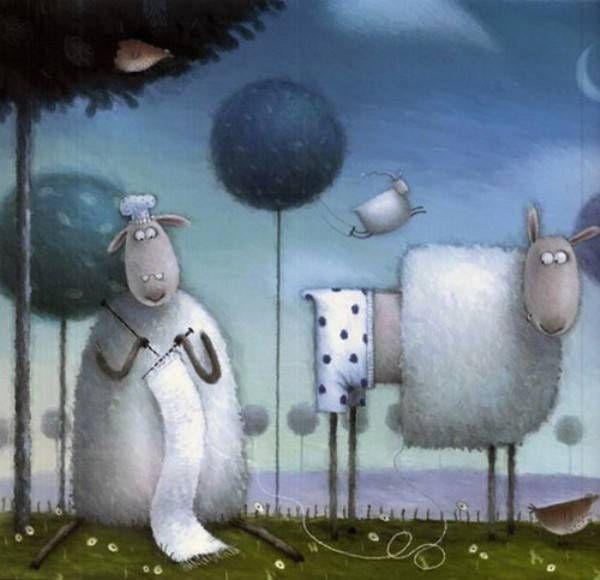"""Сказка Роба Скоттона (Rob Scotton) """"Овечка Расселл"""" (""""Russell le mouton""""). Обсуждение на LiveInternet - Российский Сервис Онлайн-Дневников"""