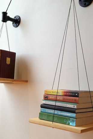 A bookshelf that keeps your life in balance: | 21 Minimalist Storage Solutions That Are Basically Works Of Art