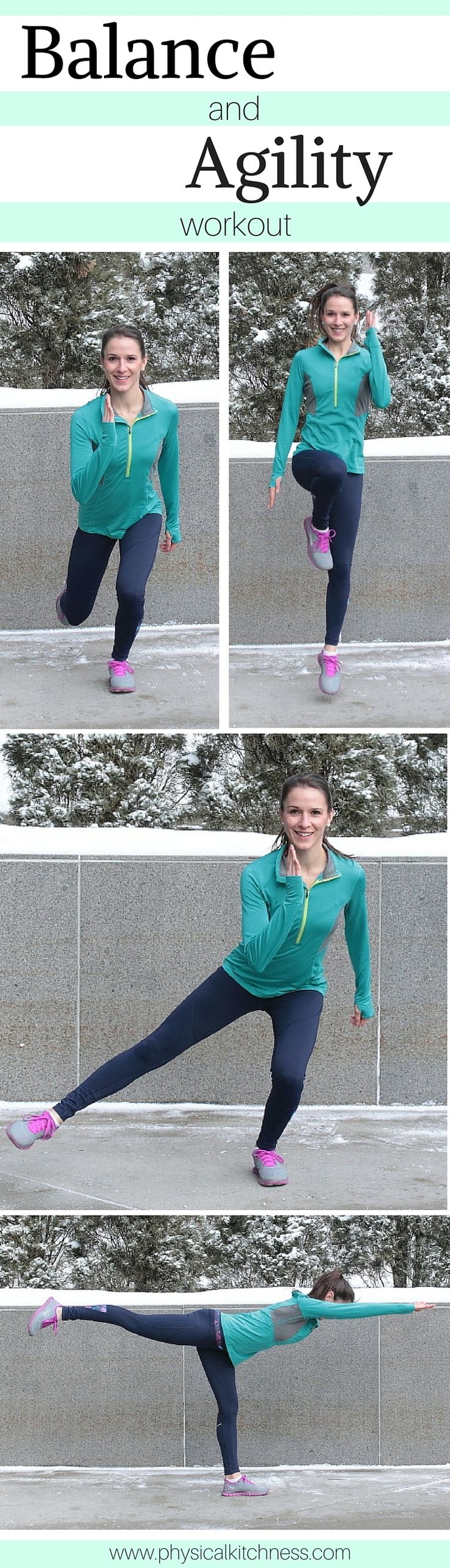 A workout focused on stability, coordination, strength, and endurance. Mix up your old routine with this balance and agility workout!