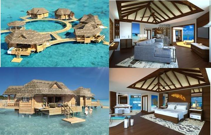 Overwater Bungalow Suites The Newest Project For Sandals