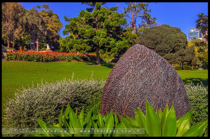 Королевские ботанические сады Сиднея, The Royal Botanic Garden Sydney, Сидней…