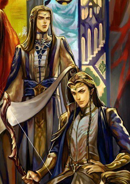 Utúlie'n Aurë. Fingolfin & Fingon.