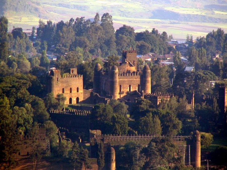 Castillo Real de Gonder Ethiopía