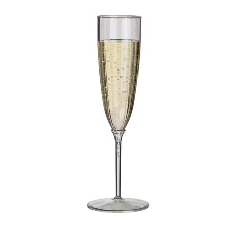 5 oz Smartyware™ Plastic Champagne Flutes