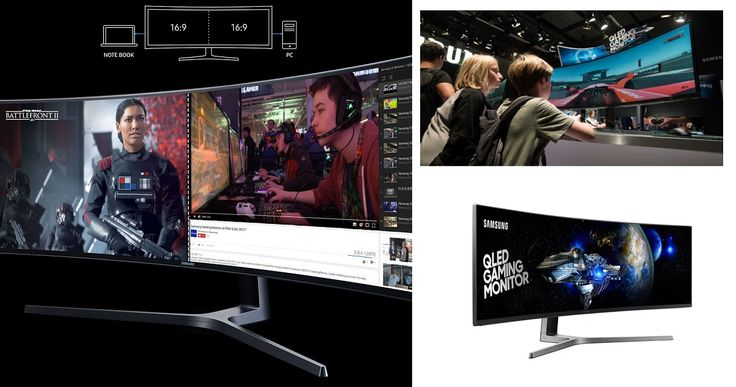 New Samsung's QLED Gaming Monitor Is First To Be VESA Display HDR Certified  #49inch #av #CHG90 #DisplayHDR #entertainment #gaming #gear #personal #computing #personalcomputing #QLED #Samsung #new #tech #technology #monitor #QLEDmonitor #Gamers #technews #innovation #computer #pc