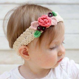 Free Crochet Flower Headband Pattern (Baby, Toddler, Child, Adult)